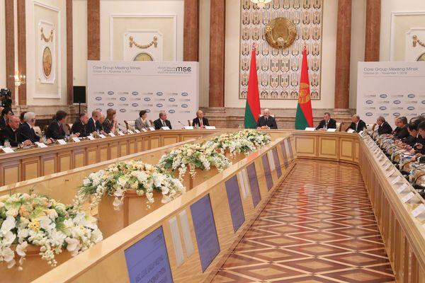 Тема недели: Встреча Основной группы Мюнхенской конференции по безопасности в Минске
