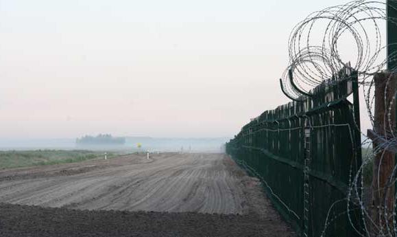На границе с Литвой задержан нарушитель, ему грозит до 2450 рублей штрафа