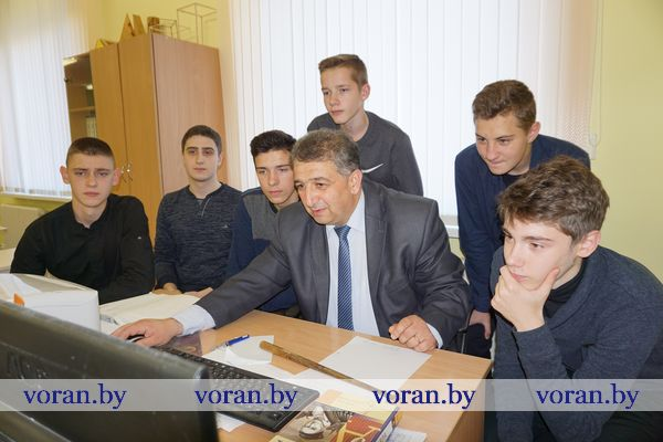 Старшеклассники Вороновской СШ привезли два диплома с областного турнира юных математиков