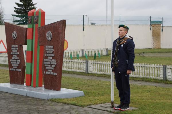 В Вороново прошел смотр-конкурс на лучший отряд «Юных друзей пограничников»