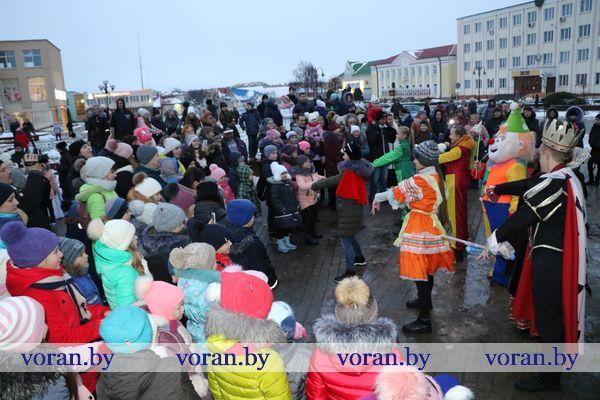 Новый год уже в пути. Жители Вороново и их гости о праздничном мероприятии (Видео)