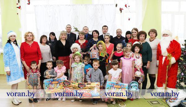 В Радунском социально-педагогическом центре прошел новогодний праздник