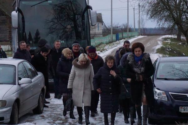Вороновский район посетила делегация Литовской Республики