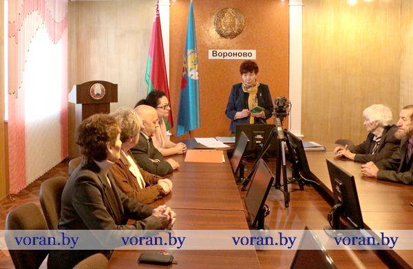 Вороновский совет ветеранов подвел итоги работы за год