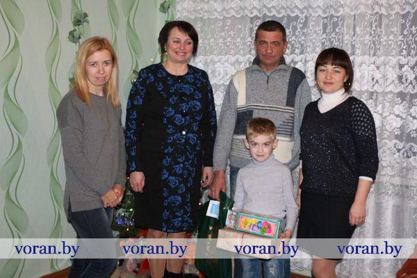 Канун Нового года выдался волнительным для Владислава Бычковского из Жирмун