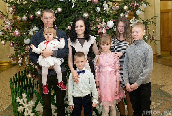 Мечты сбываются. В этом убедилась опекунская семья Гончаровых из Вороново