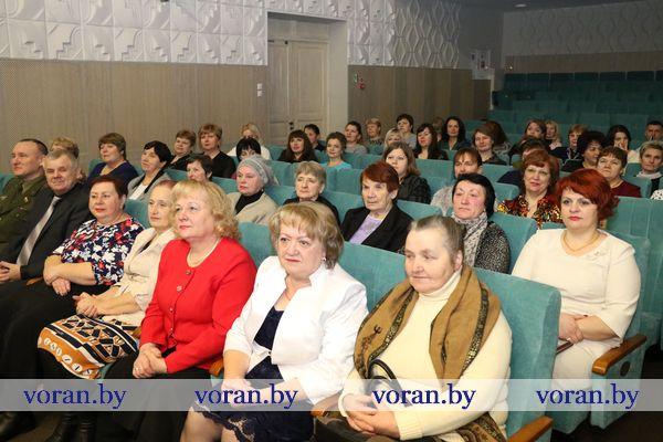 Во благо человека. В Вороново состоялось торжественное мероприятие, посвященное 100-летию органов по труду и социальной защите