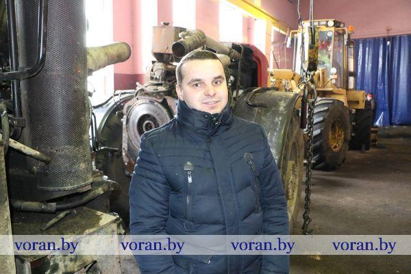 В Вороновском районе активно готовят технику к весне