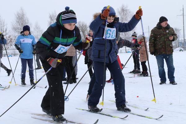 Детские соревнования «Снежный снайпер» проходят на Вороновщине