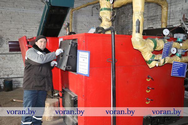 В Вороновском районе делают ставку на местные виды топлива.