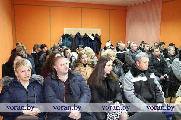 Сегодня на Вороновщине прошел Единый день информирования