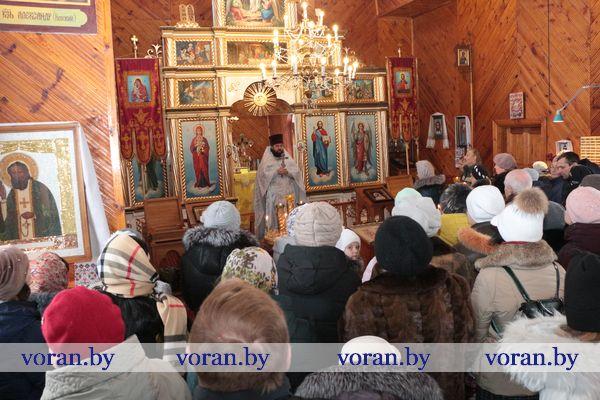На Вороновщине празднуют Крещение Господне