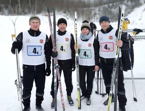 Вороновская команда достойно выступила на «Гродненской лыжне-2019»