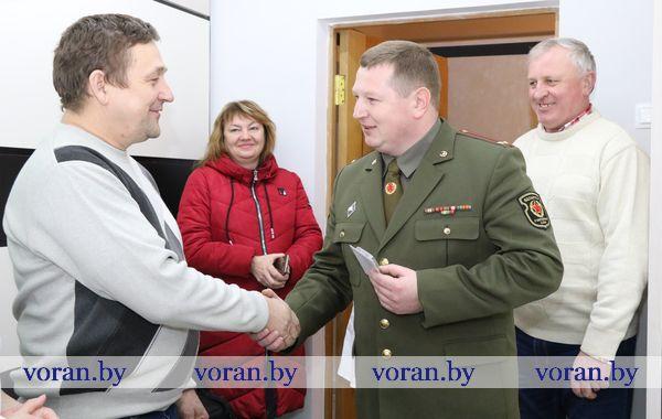 В Вороновском районе вручают юбилейные медали воинам-интернационалистам