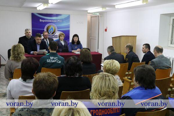 Cегодня на Вороновщине прошел Единый день информирования