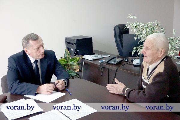 Председатель Комитета государственного контроля Гродненской области Анатолий Дорожко провел прием граждан в Вороново