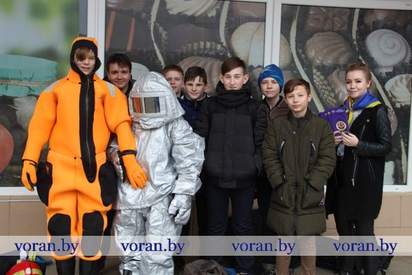 На Вороновщине прошел финальный этап акции МЧС «Безопасность в каждый дом!»