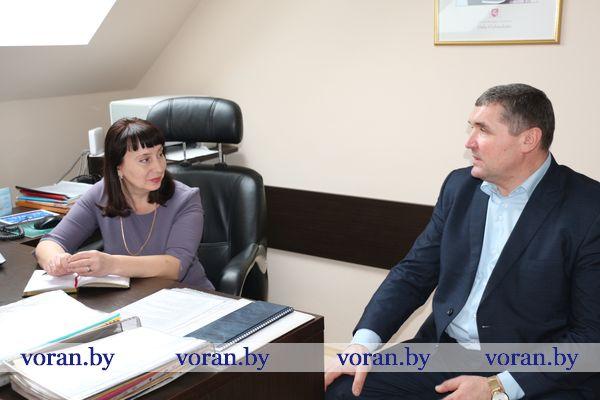С сельчанами встретилась заместитель председателя Вороновского райисполкома Галина Шарко