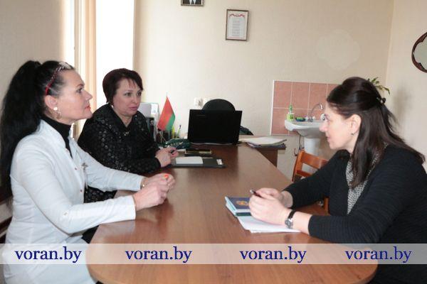На Вороновщине прошел профсоюзный прием граждан