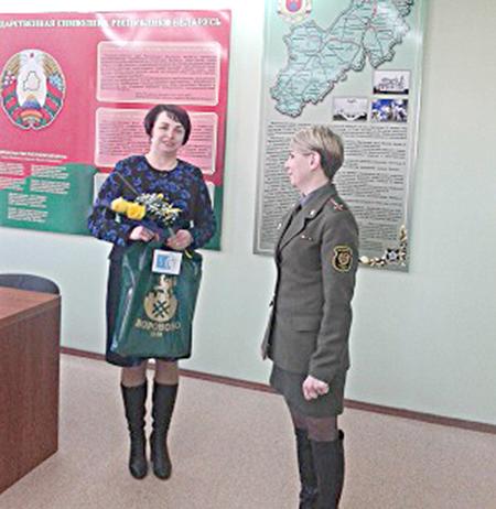 Женщины-офицеры на страже Отечества