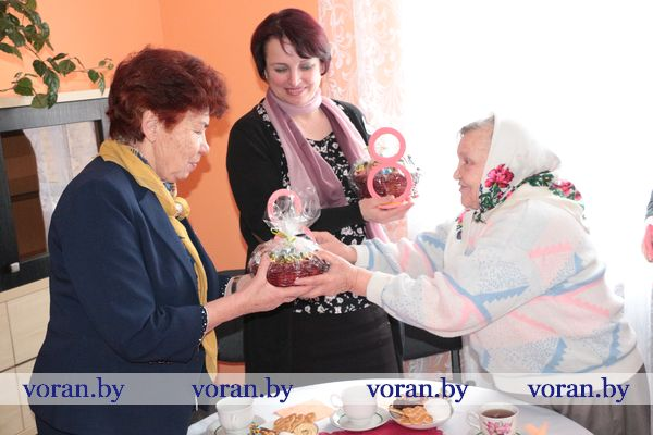 Акция районной организации Белорусского союза женщин «Щедрое сердце» проходит на Вороновщине