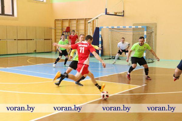 Команда «Вороново» на втором месте по мини-футболу