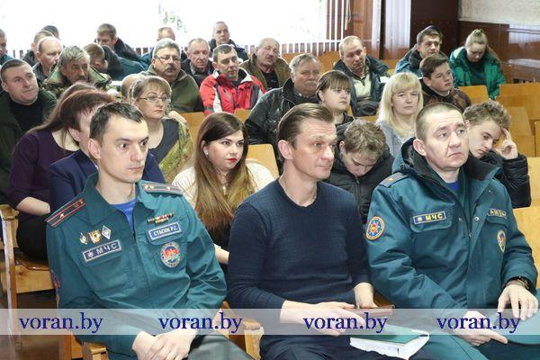 Единый день информирования проходит в организациях и предприятиях  Вороновского района 21 марта (будет дополнено)