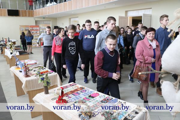 Выпускники школ Вороновского района встретились с учащимися и педагогами Вороновского ГПТК сельскохозяйственного производства