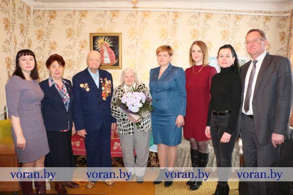 28 марта девяносто третий день рождения отметил ветеран Великой Отечественной войны Степан Аксентьевич Жук из Вороново