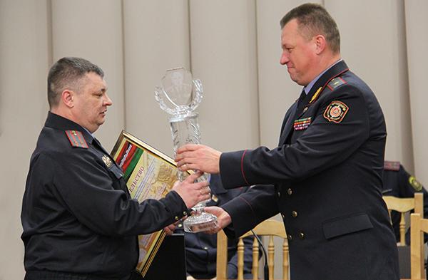 Отдел внутренних дел Вороновского райисполкома —  лучший в области по итогам работы  за прошлый год