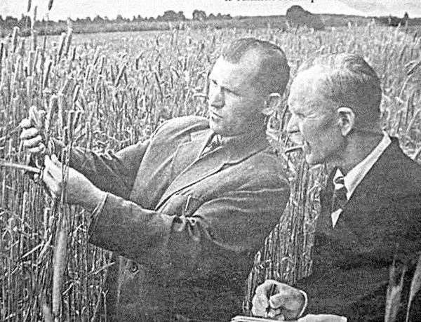 Алексей Богомолов и Иосиф Лисовский