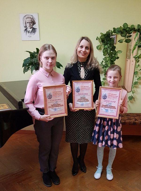 Три диплома привезли юные музыканты Вороновщины с престижного областного конкурса
