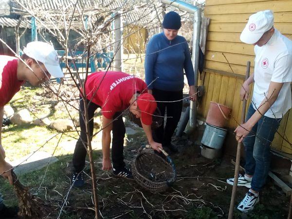 «Начни помогать весной!» Акцию под таким названием проводит Вороновская районная организация Красного Креста