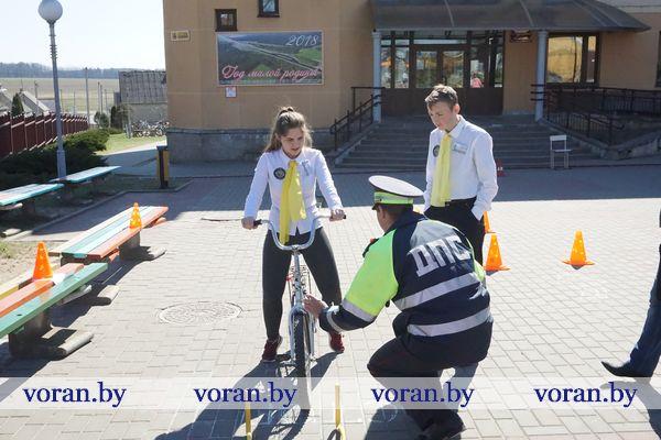 Радунские школьники — лучшие знатоки Правил дорожного движения