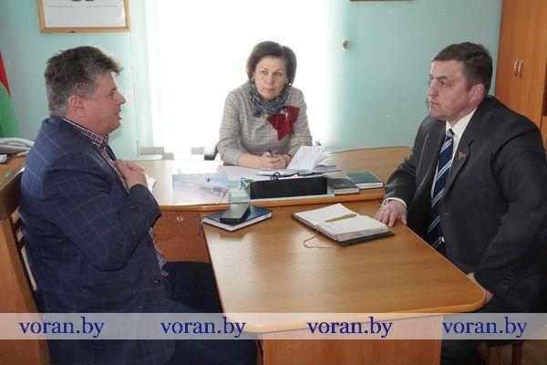 Депутат Палаты представителей Национального собрания Республики Беларусь Александр Маркевич работал в своем избирательном округе