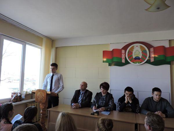 В первичке профсоюза учащихся Вороновского  колледжа новый лидер