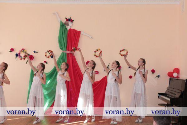 Маленький концерт с большим потенциалом в Вороновской детской школе искусств