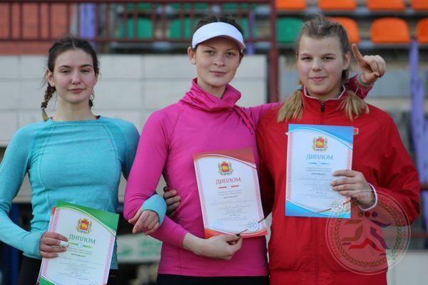 Легкоатлеты Вороновщины заняли четвертое место в областной спартакиаде