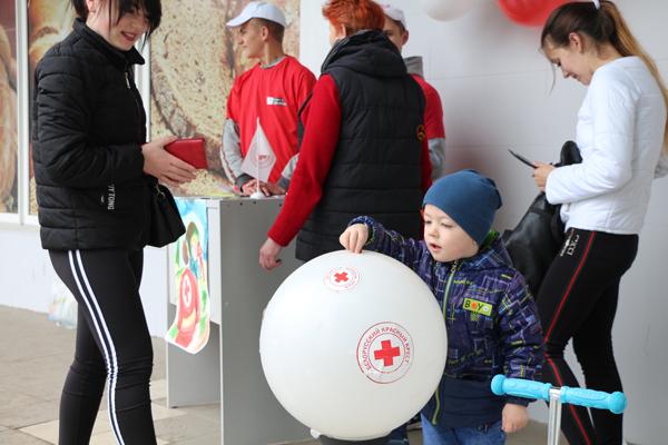 Единый день Красного Креста проходит сегодня на Вороновщине