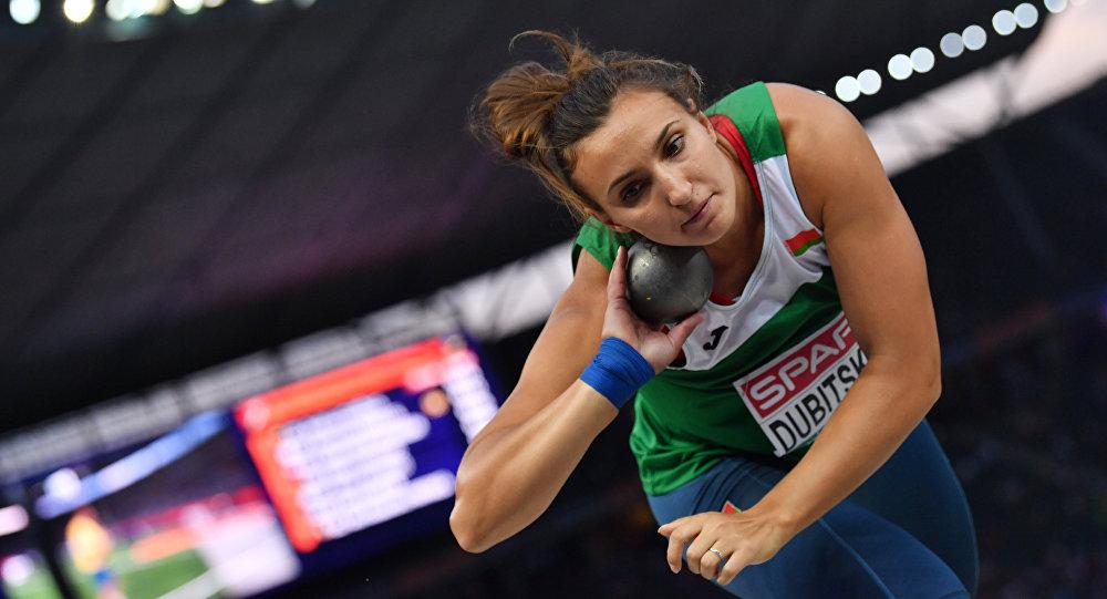 Уроженка Вороновского района  Алена Дубицкая оказалась сильнейшей в толкании ядра на этапе Бриллиантовой лиги в Стокгольме.