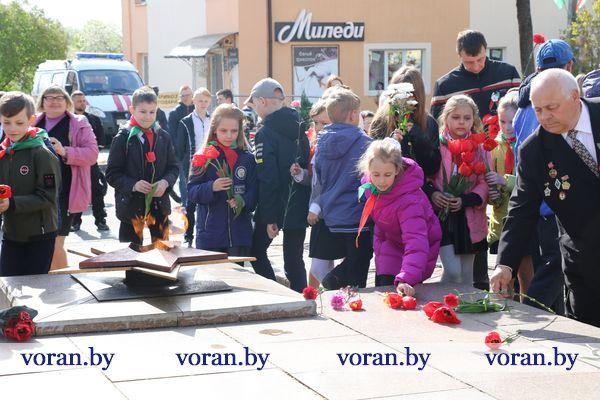 На Вороновщине дан старт празднованию Дня Победы (Фото, Видео)
