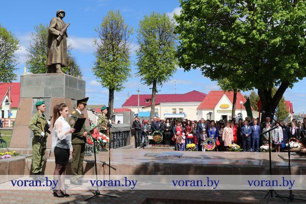 Вороновщина празднует День Победы (Фото. Видео)