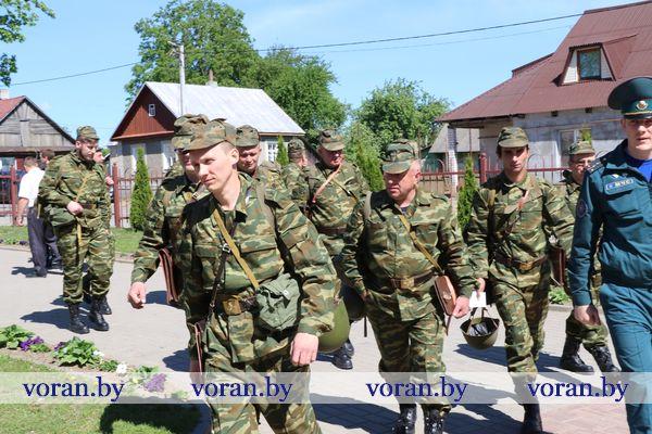 На Вороновщине проходит проверка боевой мобилизационной готовности