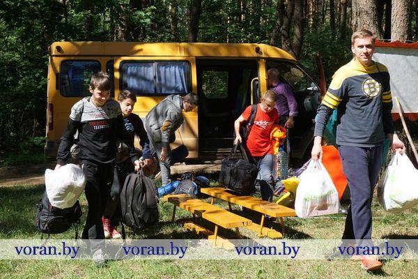 Школьников Вороновщины собрал районный туристический слет (Будет дополнено)