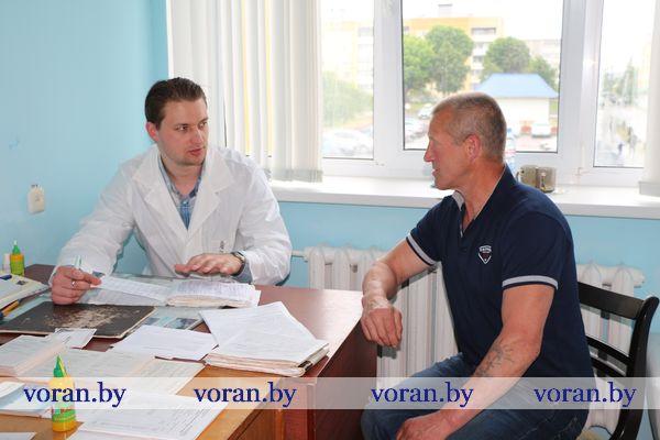 Врачи из Гродно провели выездной прием в Вороново