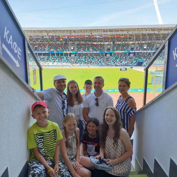 Вороновчане продолжают посещать ІІ Европейские игры и с удовольствием делятся своими впечатлениями с журналистами «ВГ».
