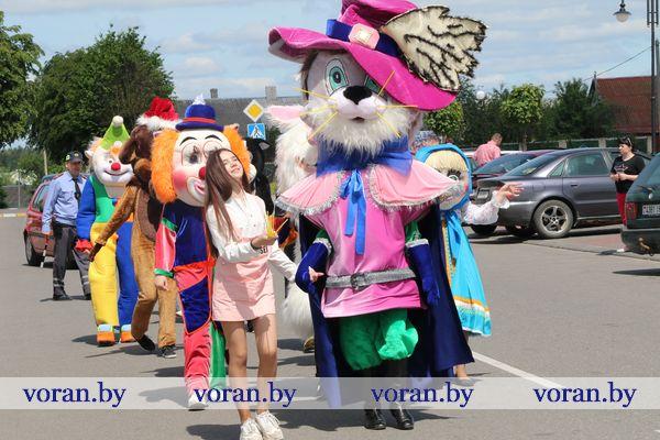 Отличный старт каникулам! Международный день защиты детей отмечают на Вороновщине