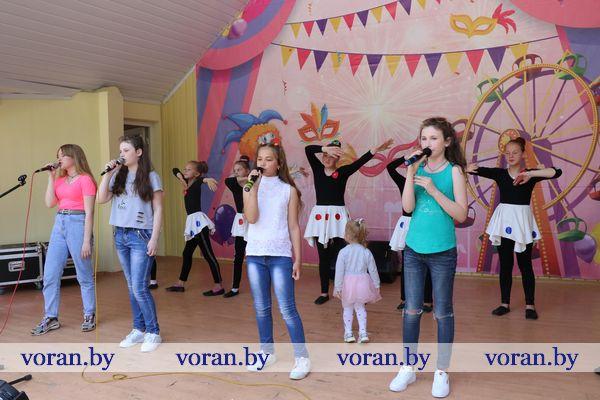 В Вороново пели, прыгали, играли и… учились безопасности