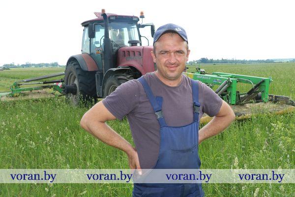 Зеленая жатва в Мисевичах