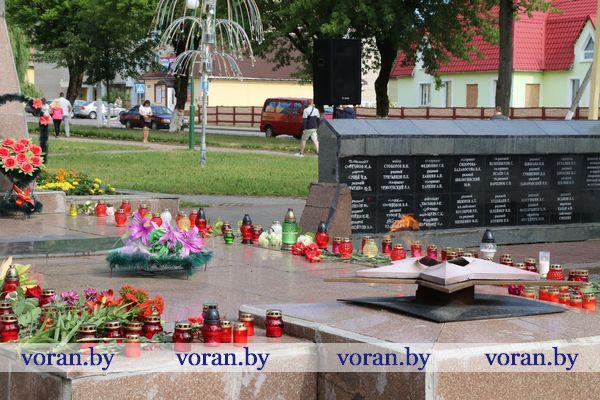 Пока мы помним — они все живы.  Утром 22 июня в Вороново прошел митинг-реквием в память о жертвах Великой Отечественной войны